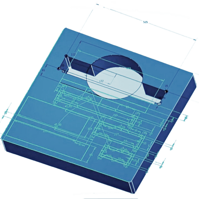 Millimetre-precision planning and design of ZARGES foam inserts.