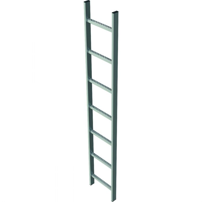 Shaft Ladder, Steel, Internal Width 400 Mm